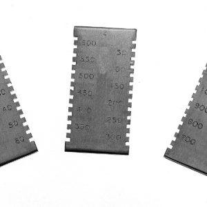 Прямоугольная гребенка для измерения толщины мокрого слоя Elcometer 3238