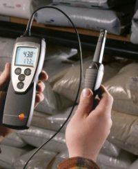 testo 625 - Термогигрометр для долгосрочной работы