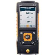 Testo 440 dP — Прибор для измерения скорости и оценки качества воздуха в помещении со встроенным сенсором дифференциального давления (0560 4402)