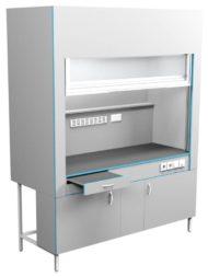 Шкаф вытяжной без сантехники ШВ НВК 1800 МОН (1800x716x2200)